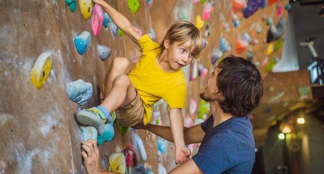 Image : Initiation à l'escalade pour les enfants