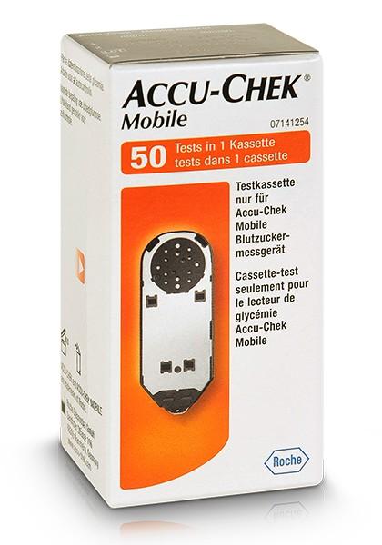 cassette  accu-chek mobile