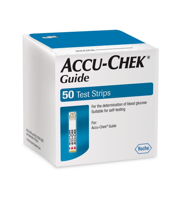 accu-chek guide 50 tests