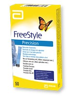 freestyle precision 50 tests