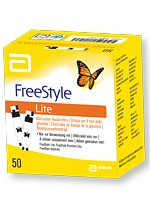 freestyle lite strips 50 tests