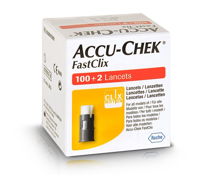lancettes accu-chek fastclix 17x6